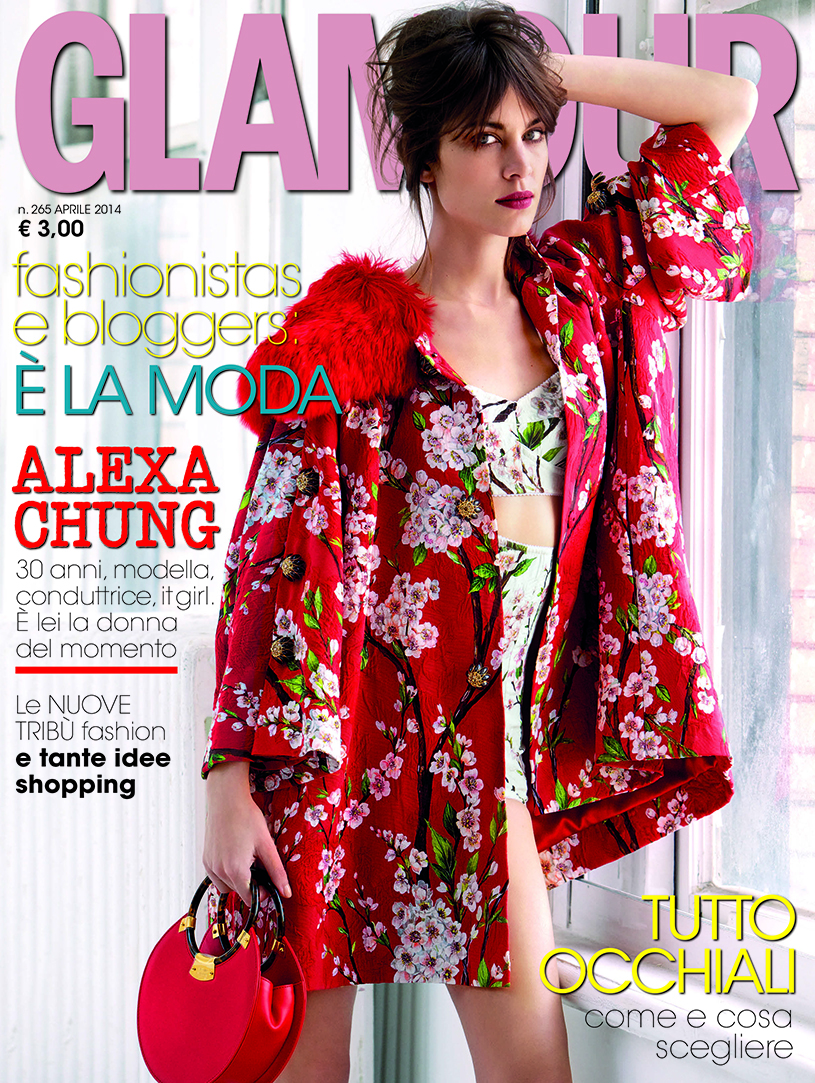 Media Press Glamour Cover Aprile