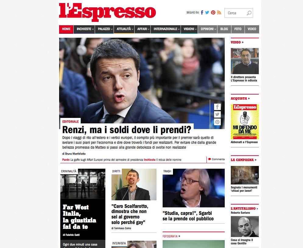 Media Press espresso