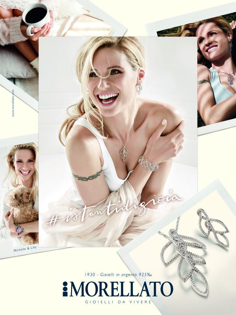 Morellato Michelle Hunziker | campagna pubblicitaria